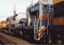 Z129 RP 1991 MC MAINE CENTRAL RAILROAD ENGINE #408 SCRAP
