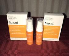2X Murad  Vita C Vitamin C. Glycolic Brightening Serum 5mL Each Travel Sz