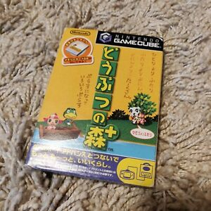 Doubutsu no Mori + w/mem Animal Crossing Gamecube Japanese Import GC (US Seller)