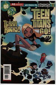 Teen Titans GO! #11,  DC 2004, VF+, HTF Cover by Dave Bullock
