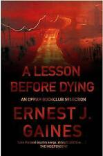 A Lesson Before Dying-ExLibrary