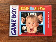 Home Alone Original Nintendo Gameboy Instruction Manual Only