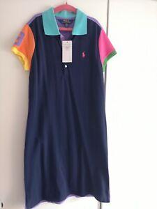 Girls Ralph Lauren Polo Dress Size L 12-14year