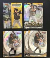 2020 Bowman Best Robert Hassell Lot (5) Refractor + Base + Inserts - Padres