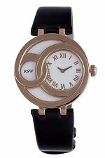 RSW Women's 6025.PP.L1.2.00 Wonderland Round Rose Gold PVD White Dial watch