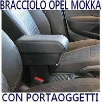 Bracciolo PORTAOGGETTI per OPEL MOKKA - Qualità Italia -vedi anche tappeti gomma