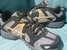 Hi-Tec BERKELEY M Black Grey Gold Hiking trail running Shoes Sneakers New $70