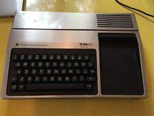 ORDINATEUR COMPUTER VINTAGE TEXAS INSTRUMENTS TI-99/4A