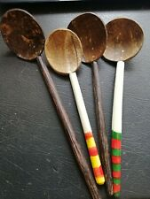 Coconut Shell Spoons Natural Kitchen Tools Equipment-Ceylon Free Shipping