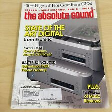 The Absolute Sound Issue 171, 2007 TAS MUSIC Esoteric Ayre Sutherland Review