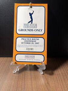 THE TOUR CHAMPIONS GOLF TOURNAMENT PASS UNUSED DAVID DUVAL WON 1997