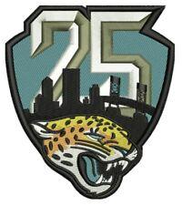 JACKSONVILLE JAGUARS 25TH ANNIVERSARY PATCH 1995 - 2019 SEASON NFL FOOTBALL