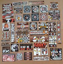 200 St.Pauli Aufkleber Sticker 40 Motive a 5 Stück FC Sankt Ultras Ultra MIX 1