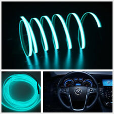 2M ICE BLUE EL-Wire Car SUV Unique Decor Fluorescent Strip Neon Lamp Cold light