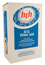 Swimming Pool HTH Diatomaceous Earth DE Powder Diatomite Filter Media 10 lbs