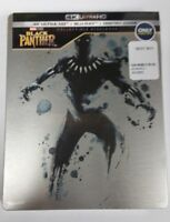 Black Panther 4K Ultra HD HDR Blu-Ray Collectible Steelbook NEW