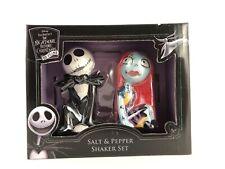 Jack & Sally Nightmare Before Christmas Salt & Pepper Shakers 25 Years