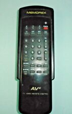 MEMOREX AV4 TV/TEXT/VCR/SAT/AUX REMOTE CONTROL MODEL:AV4 EX/CON