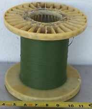 GUDEBROD BUTTWIND CUSTOM FISHING ROD WINDING WRAP GREEN ENTIRE SPOOL #2