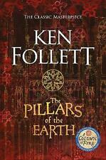 The Pillars of the Earth The Kingsbridge Nove by Ken Follett Paperback Book!