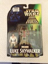 Star Wars Deluxe Luke Skywalker con desierto Sport bote por Kenner