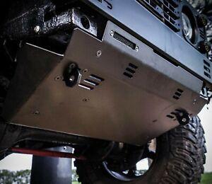 Land Rover Defender Stainless Steel Brute Steering Guard - Uproar 4x4