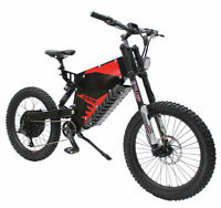 Electric Bicycle Ebike 72V 5000W FC-1 Stealth Bomber MountainBike & 40AH Battery