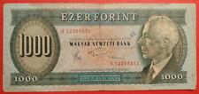 "FORINT 1000, Ungheria, 10/11/1983, km #173b, prefisso ""B"""
