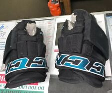 Ccm Pro Hg97 #53 Sj Sharks Player Ice Hockey Gloves 14� Shot Blocker