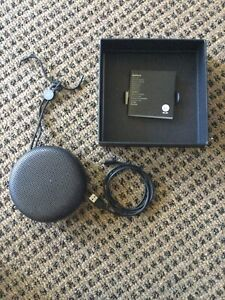 B&O PLAY by Bang & Olufsen Beoplay A1 Bluetooth Speaker & Microphone Black