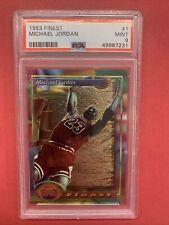 1993 Topps FINEST Michael jordan #1 PSA 9 Chicago Bulls -MJ First Finest MJ📈🔥
