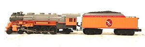 MTH O SCALE 30-1391-1 L-3 MOHAWK STEAM ENGINE MILWAUKEE #251 W/ PS 2.0