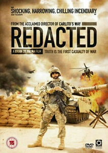Redacted DVD Iraq War Drama-Documentary Style Movie BRIAN DE PALMA 2007