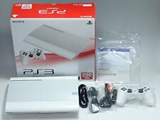 SONY Japan PlayStation PS3 PS Game Console System 250GB White CECH-4200BLW Mint