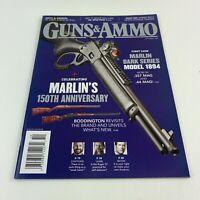 GUNS & AMMO magazine october 2020  celebrating  MARLIN 150th anniversary