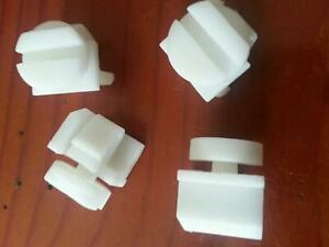 Map Pocket Seat Clips (2x pairs) suits Commodore VT VX VU VY VZ WH WK WL new gen