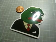 PEPE IN SUIT Sticker / Decal Skateboard Stickers Actual Pattern Fun NEW GLOSSY