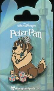 DLP DLRP Paris Dog Nana with Blocks Peter Pan Disney Pin 131895