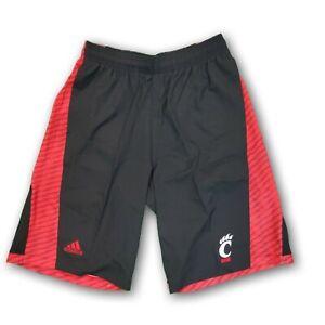 Cincinnati Bearcats NCAA Adidas Men's Red/Black Shorts With Pockets