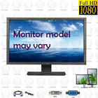 Dell 24 inch 1920 x 1080 FHD LCD Monitor w/ stand & cables   Model may vary