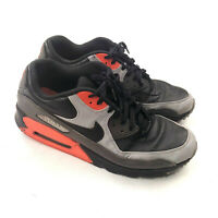 Nike Air Max 90 Ultra Mid Winter Black Leather Size US 10.5