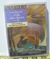 Brand New & Sealed Narnia The Voyage of the Dawn Treader Audio Cassette Book