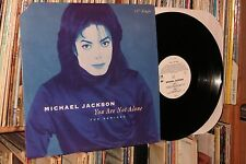 "MICHAEL JACKSON ""You Are Not Alone"" 1995 Epic 12"" (rock with you megamix)"