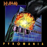 DEF LEPPARD Pyromania BANNER HUGE 4X4 Ft Fabric Poster Tapestry Flag album art