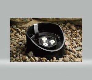 Kichler 15768 BKT 4.5W 35 Degree LED Well Light Textured Black NEW IN BOX