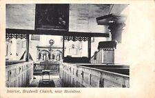 Essex -  BRADWELL by COGGESHALL, Interior of Church near Braintree