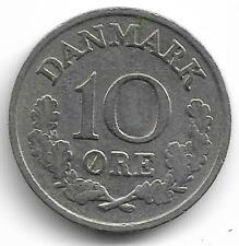Danmark 10 Ore Coin - 1964 -  L@@K !!