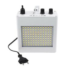 Faro 108 led luce stroboscopica da discoteca flach bianco lampada effetti strobo