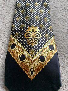 Vintage Gianni Versace tie, 100% silk, great condition
