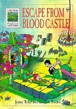 Escape from Blood Castle (Usborne Puzzle Adventures) by Tyler, Jenny